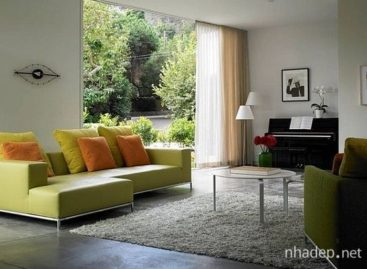 Ý tưởng trang trí nội thất với màu xanh lá cây