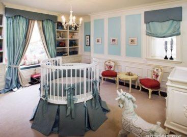 26 mẫu thiết kế nôi tròn đầy màu sắc và tiện nghi cho bé
