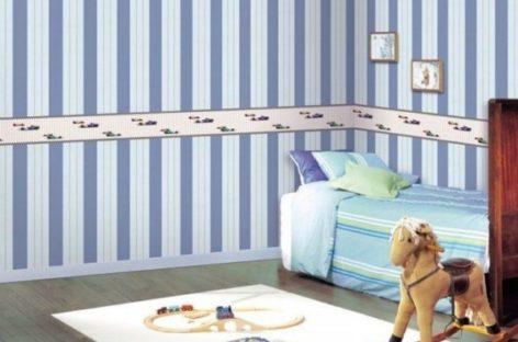 Căn phòng của bé rực rỡ hơn với giấy dán tường