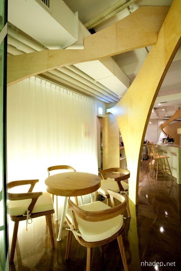 Chiem nguong khong gian noi that cua Café Raon_05