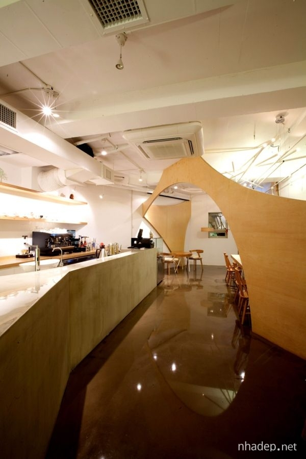 Chiem nguong khong gian noi that cua Café Raon_09