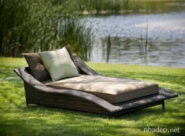 5 mẫu giường ghế ngoài trời độc đáo