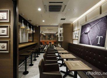 Trải nghiệm không gian kiến trúc của một tiệm cà phê ở Nhật Bản