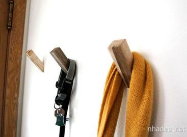 10 móc treo tường phong cách cho không gian nhà bạn