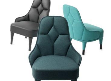Nét cổ điển pha lẫn hiện đại qua thiết kế ghế bành Emma