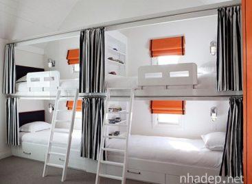 Những kiểu giường tầng hiện đại cho người lớn