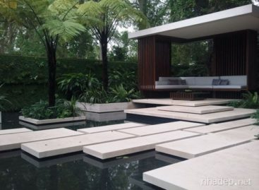 Thiết kế hồ nước trong vườn – tại sao không?
