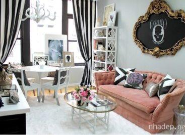 15 mẫu phòng khách mang phong cách Chic thú vị và đầy cá tính
