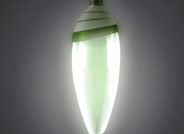 Bóng đèn sinh học AlgaeBulb với màu xanh tảo biển