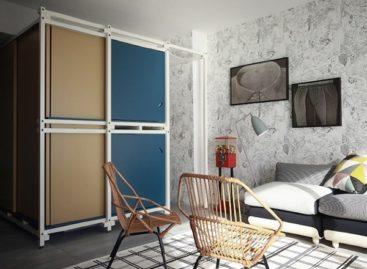 Giải pháp thiết kế cho căn hộ diện tích nhỏ ở Pháp