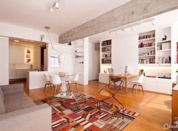 Mẫu thiết kế căn hộ hiện đại của a:m studio de arquitetura