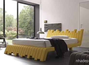 Ấn tượng với hình dáng độc đáo của những chiếc giường cách điệu