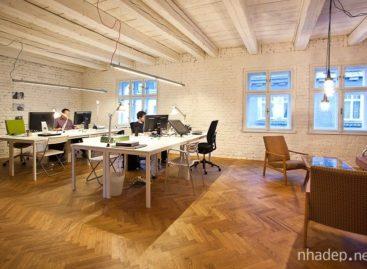Biến đổi căn hộ cũ thành văn phòng hiện đại
