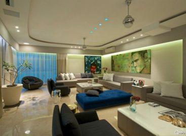 Vẻ đẹp sang trọng của căn hộ cao cấp Gupta