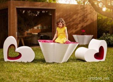 Thiết kế mới lạ ghế hình trái tim dành cho trẻ