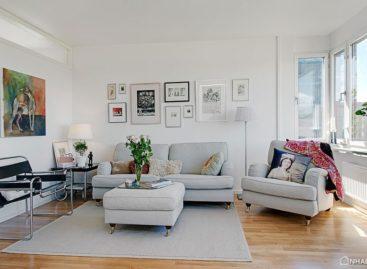 Diện mạo mới cho căn hộ ở Gothenburg – Thụy Điển
