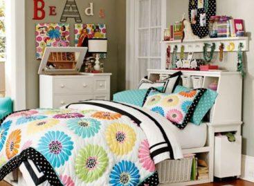 Ý tưởng độc đáo cho chiếc giường của các cô gái tuổi teen