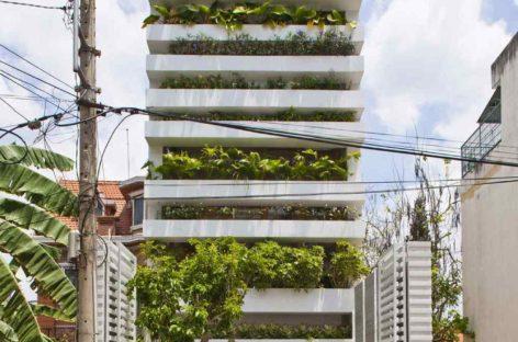 Ngôi nhà thiên nhiên trong lòng thành phố Sài Gòn bận rộn