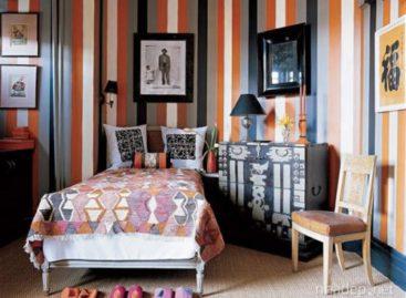 40 mẫu nội thất kẻ sọc táo bạo tiếp thêm sinh lực cho ngôi nhà của bạn trong năm 2013