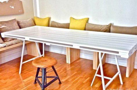 11 mẫu bàn DIY phong cách dành cho không gian phòng ăn