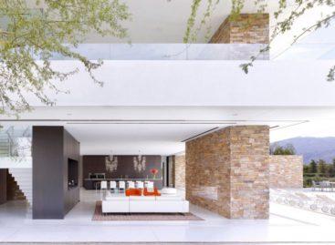 Thiết kế đẹp của căn nhà Madison trong điều kiện sa mạc khắc nghiệt