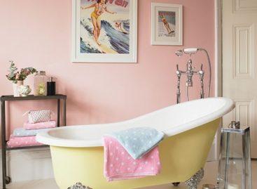 Làm sinh động gian phòng tắm của bạn