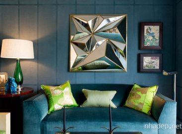 Ba bảng màu đem đến cảm hứng mới mẻ cho ngôi nhà