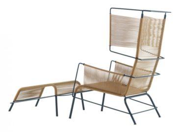 Thư giãn với chiếc ghế dệt thủ công Fifty