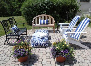 Mùa hè quyến rũ ngay trong sân vườn nhà