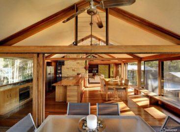 Ngôi nhà Treetop của kiến trúc sư Bruce Rickard