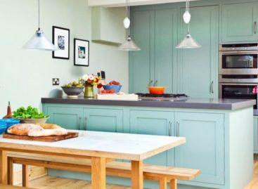 Những ý tưởng trang trí mang sắc xanh vào nhà bếp