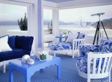 Ý tưởng phối tông màu xanh cho không gian tươi mát