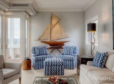 Những ý tưởng trang trí nhà lấy cảm hứng từ biển