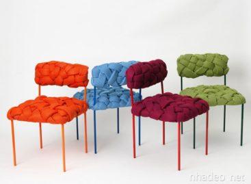 Ấn tượng với chiếc ghế kẻ sọc ba chiều