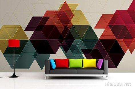 Những ý tưởng tranh tường bắt mắt cho không gian trong nhà