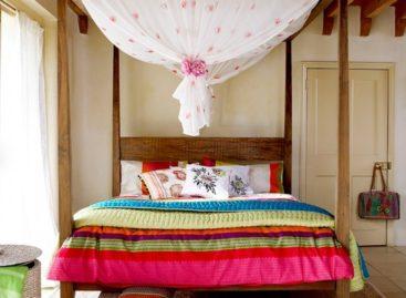 Trang trí phòng ngủ mùa hè