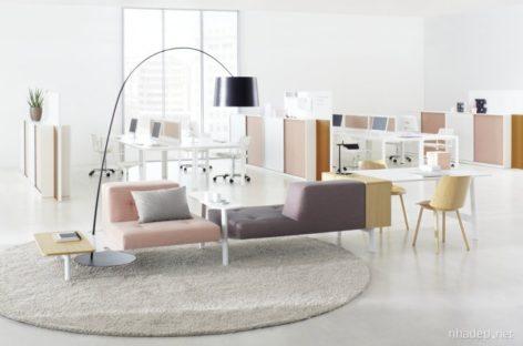 Bộ sản phẩm nội thất tiện dụng Docks dành riêng cho văn phòng hiện đại