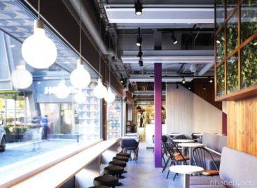 Quán café Bulten của nhà thiết kế Moodus