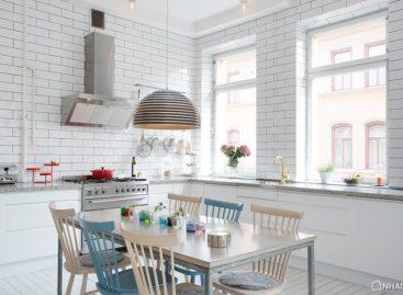 Thiết kế căn hộ đầy nắng ở Thụy Điển