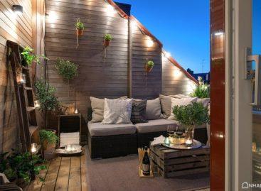 Phong cách Thụy Điển đơn giản và sang trọng trong căn hộ 90m2