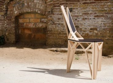 Chiêm ngưỡng đường nét tinh tế từ chiếc ghế Alterego