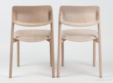 Boss – Ghế gỗ với kiểu dáng mềm mại