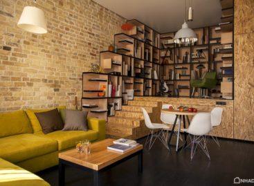 Thiết kế căn hộ dựa trên ý tưởng chuyển động liên tục