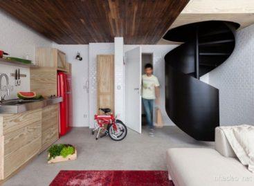 Thiết kế nội thất độc đáo từ những thùng gỗ