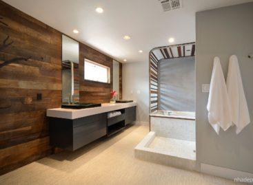 Cách tân phòng tắm Crashers