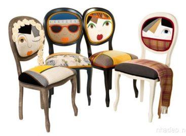 Những chiếc ghế hình búp bê thú vị của Irina Neacsu