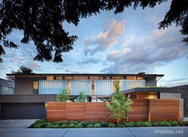 Vẻ ấm áp của gỗ trong ngôi nhà ở Seattle
