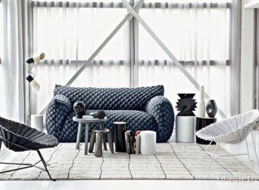 Bộ bọc sofa Nuvola mang lại cảm giác êm ái cho mọi người