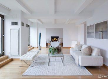 Căn hộ tầng mái Duplex tại Gramercy Park