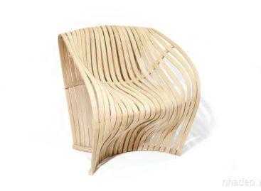 Ấn tượng với thiết kế ghế gỗ Creek hiện đại